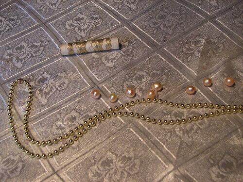 Мастер-класс ожерелье Античная мозаика