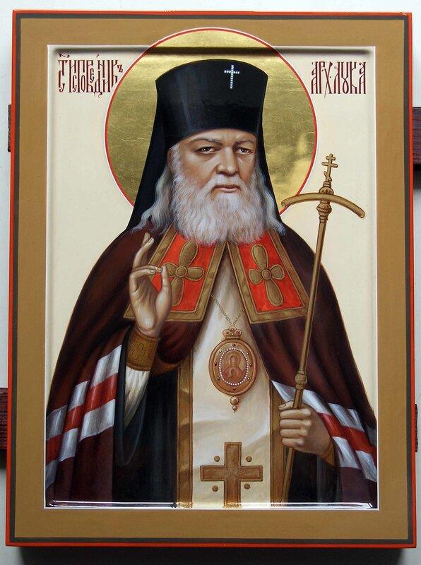 В том же году определением Синода Украинской Православной Церкви архиепископ Лука был причислен к лику местночтимых...
