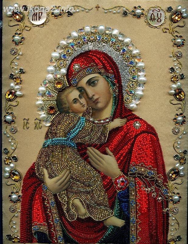 """Об иконе Божией Матери  """" Владимирская """".  Пресвятая Богородица, спаси нас!"""