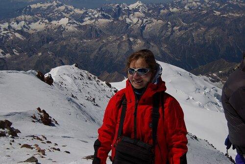 я на Западной вершине Эльбруса