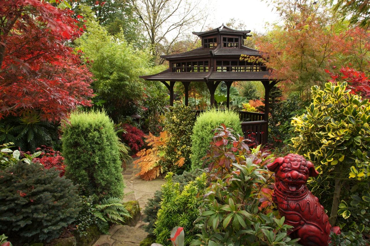 Осень 1 four seasons garden английский сад для
