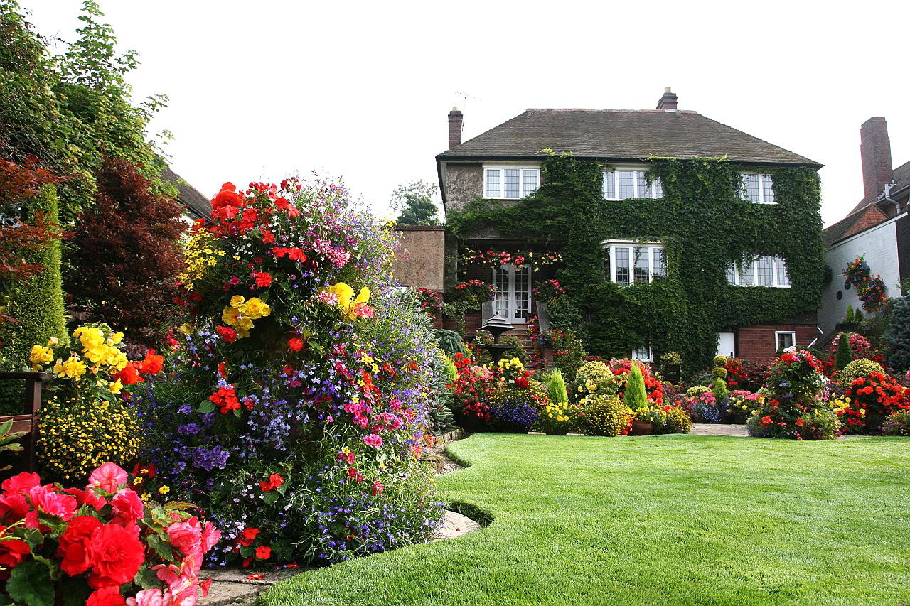 Английский сад для всех сезонов.