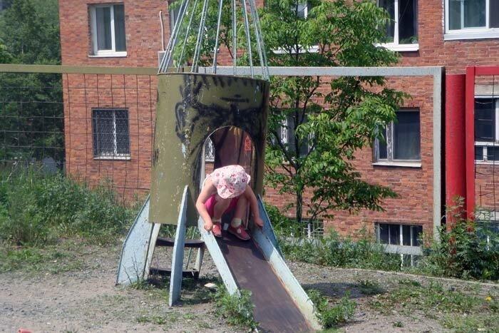 Владивосток, детская площадка на Часовитина