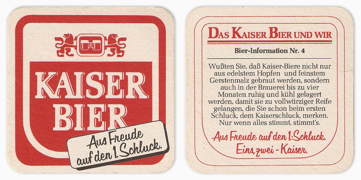 Kaiser Bier #120