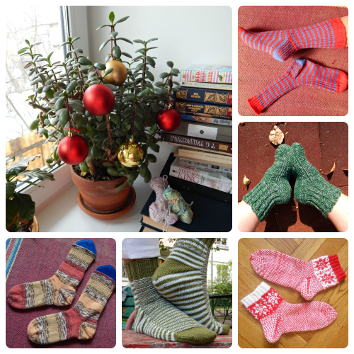 picmonkey collage, socks
