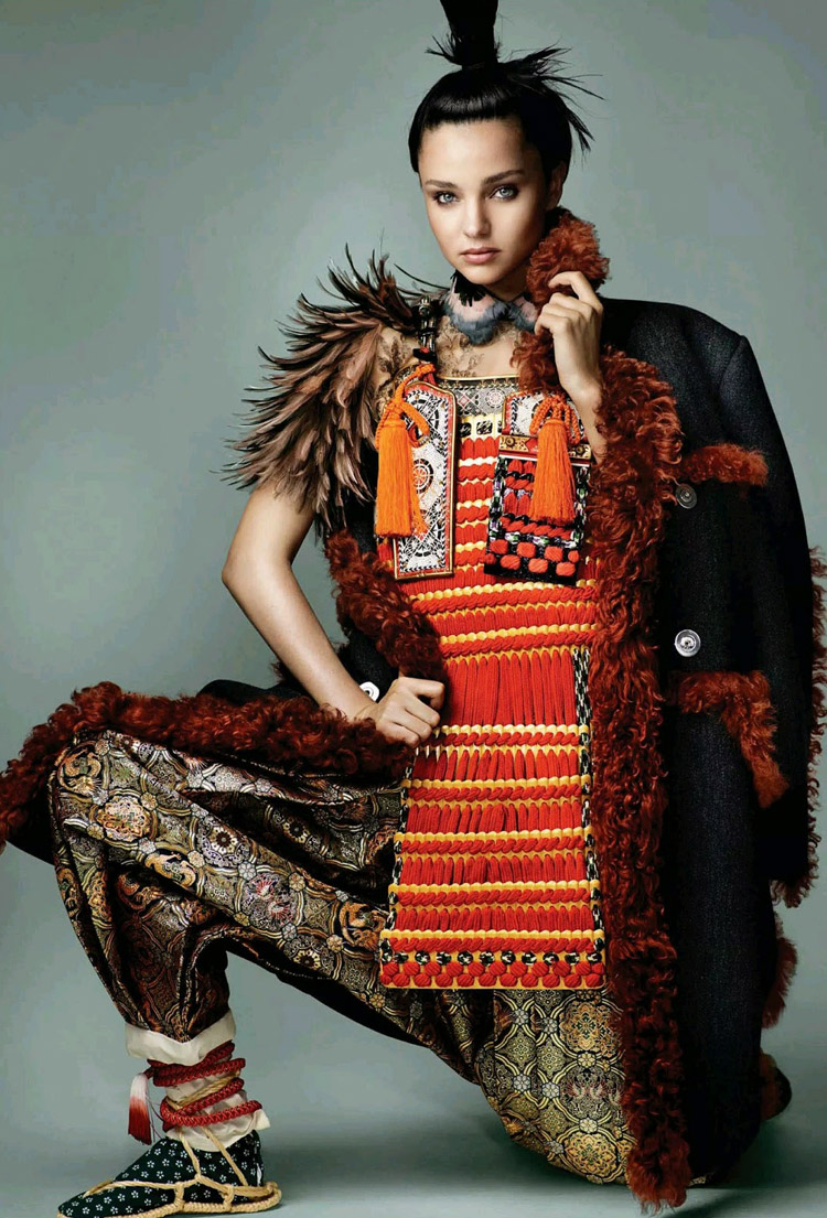 Миранда Керр (Miranda Kerr) в журнале Vogue Japan (6 фото)