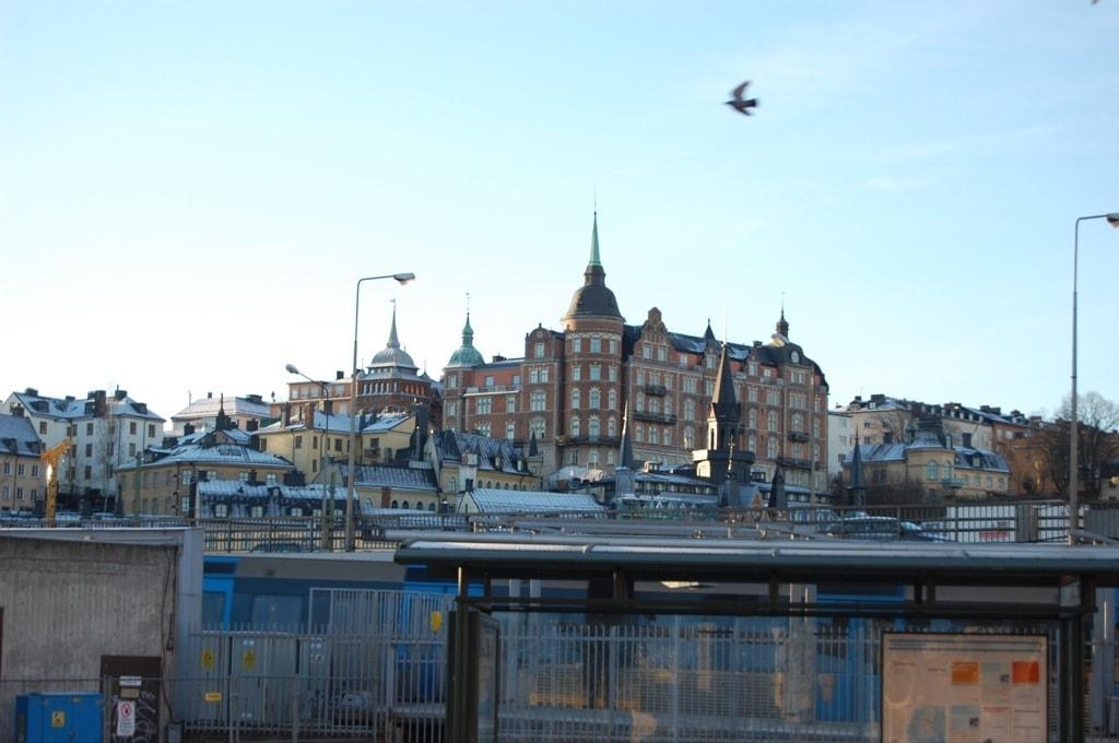 район Gamla Stan (Гамла Стан) – Старый город в Стокгольме