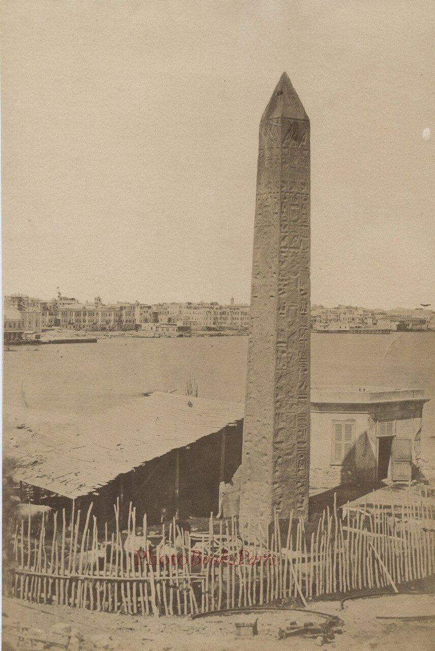 Александрия. Обелиск Клеопатры