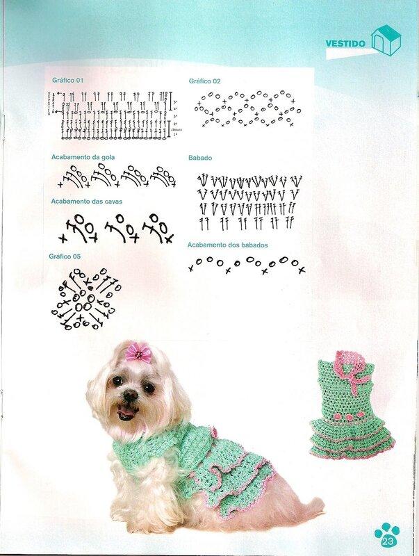 Вязание для собак. Комбинезоны, схемы и описания вязания 17