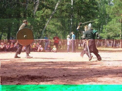 Аврора - выступление - историческое фехтование