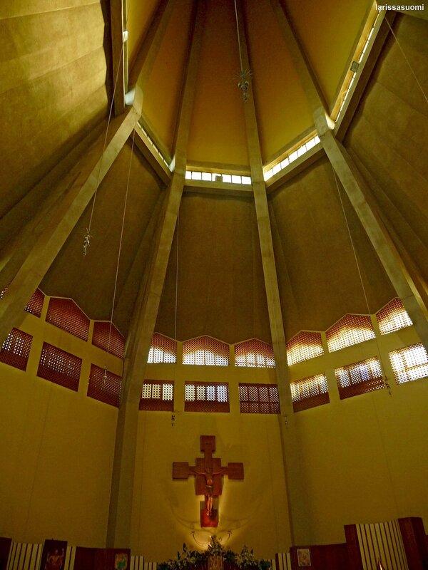 Купол церкви Maria SS Immacolata.
