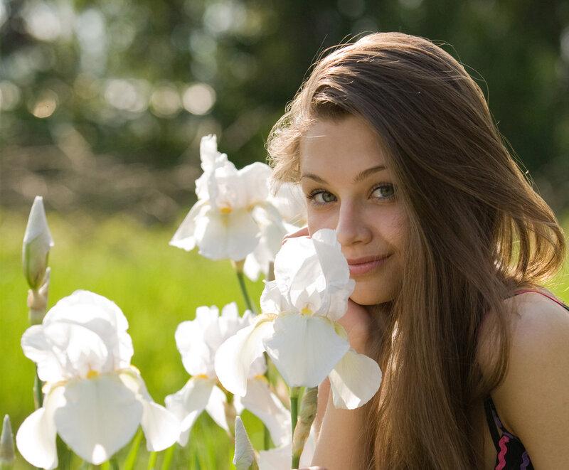 фотографии девушек летом: