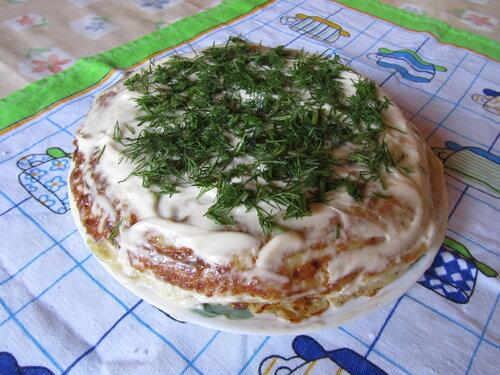 Кабачковый торт (по рецепту Изюминки)