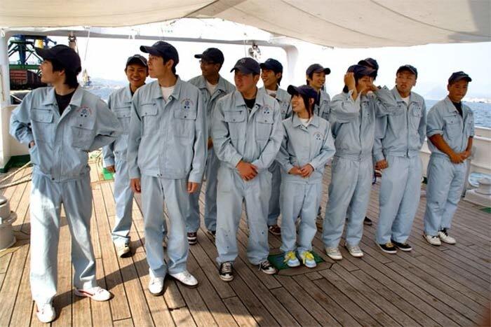Японские курсанты