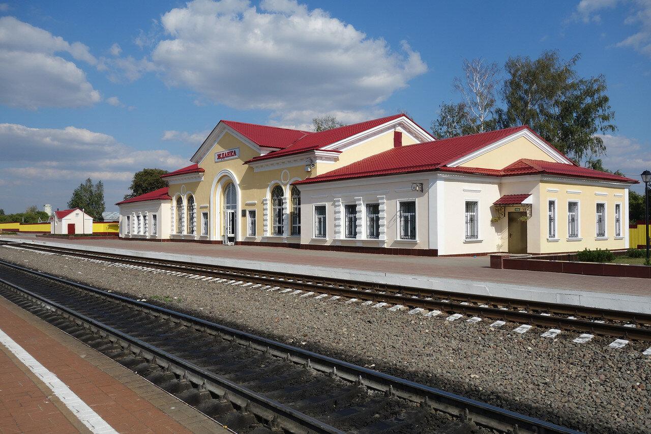 вокзал станции Жданка Мск ЖД