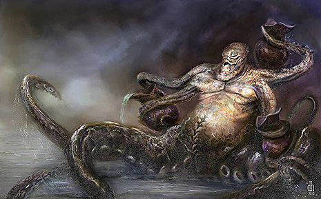 12 знаков Зодиака в образах чудовищных монстров (фото 11)