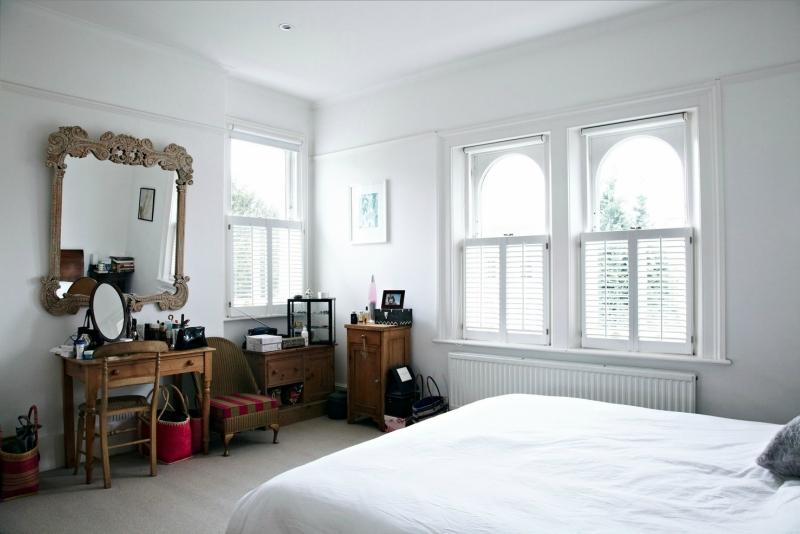 Белый цвет в интерьере спальни фото (14)