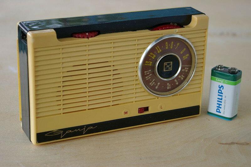 Гауя - портативный транзисторный радиоприёмник