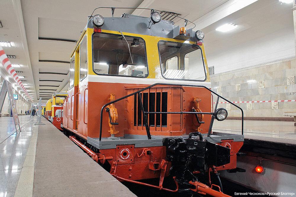 Метро. Выставка. Мотовоз МК-2 1953г. 18.05.15.02..jpg