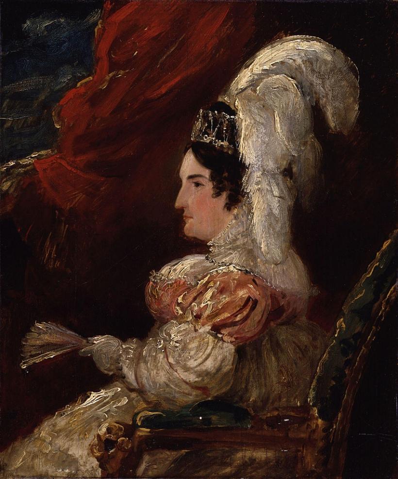 Portrait of Caroline Amelia Elizabeth of Brunswick