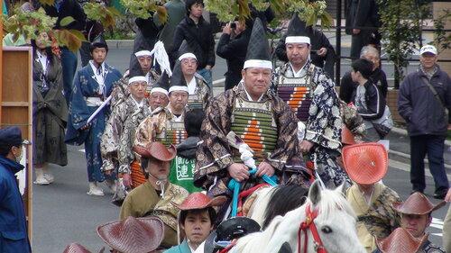 ябусамэ - лучники