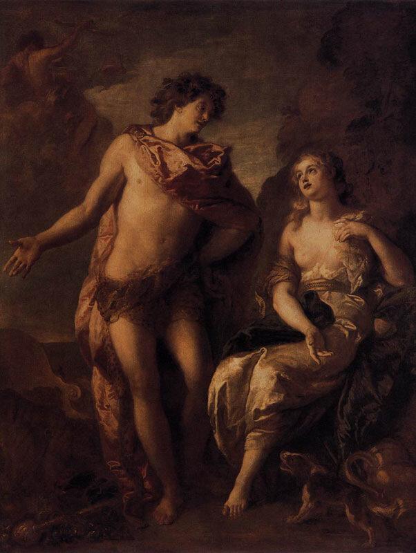 Шарль Лафосс, ок. 1699 г.Дижон (Франция), Музей изящных искусств, Ариадна и Вакх