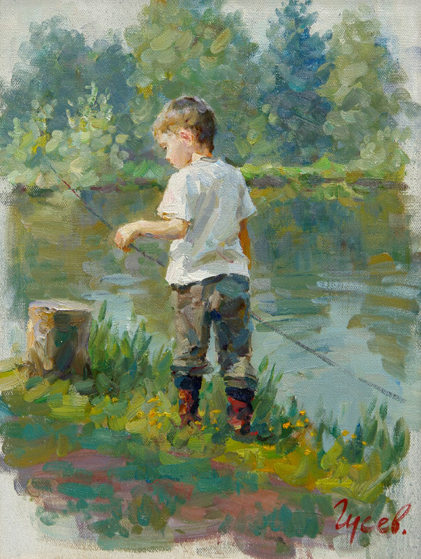 Владимир Гусев, Рыбачок