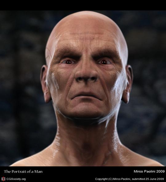 Нарисованные 3D портреты