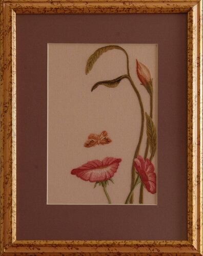 Образ девушки из цветка