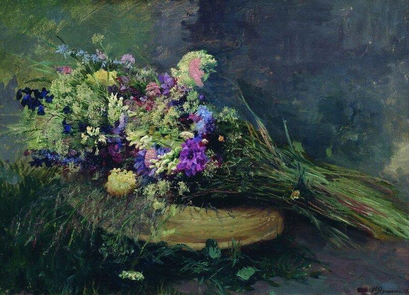 Ярошенко Н.А. Полевые цветы. 1889