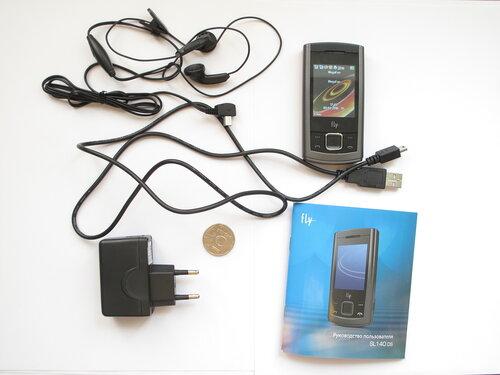 Мобильный телефон Fly SL140 DS - комплект поставки