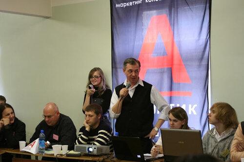 Организатор игр А.В.Мозолин