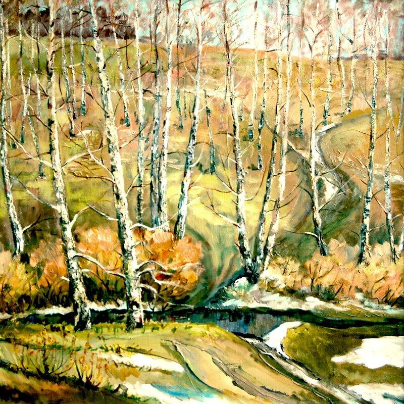 Апрель в Новороманово