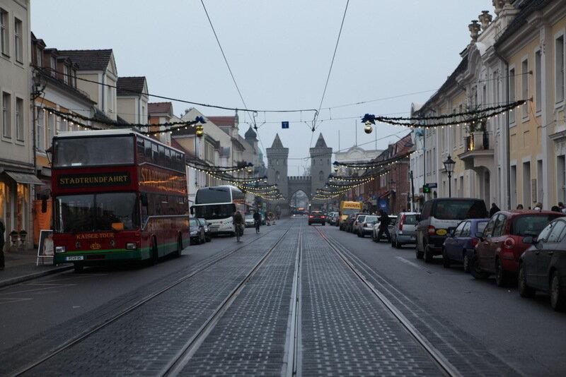 Потсдамская декабрьская прогулка...