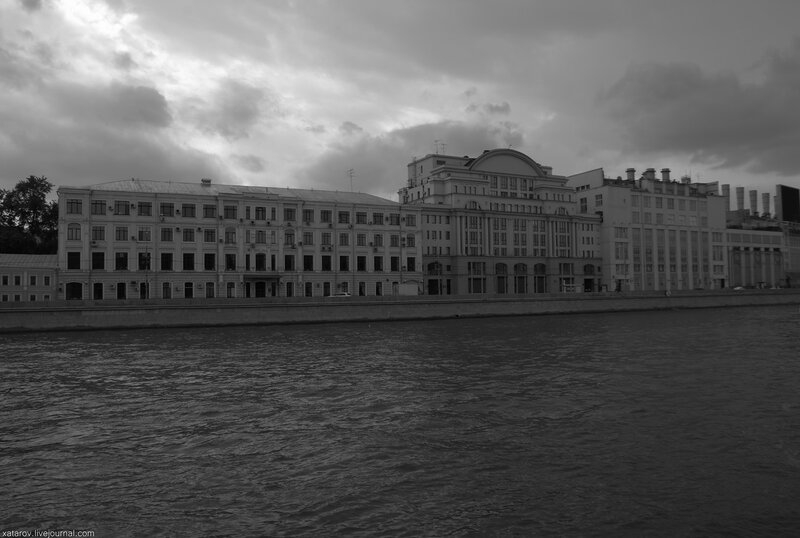 Москва-река. От Новоспасского моста до Киевского вокзала