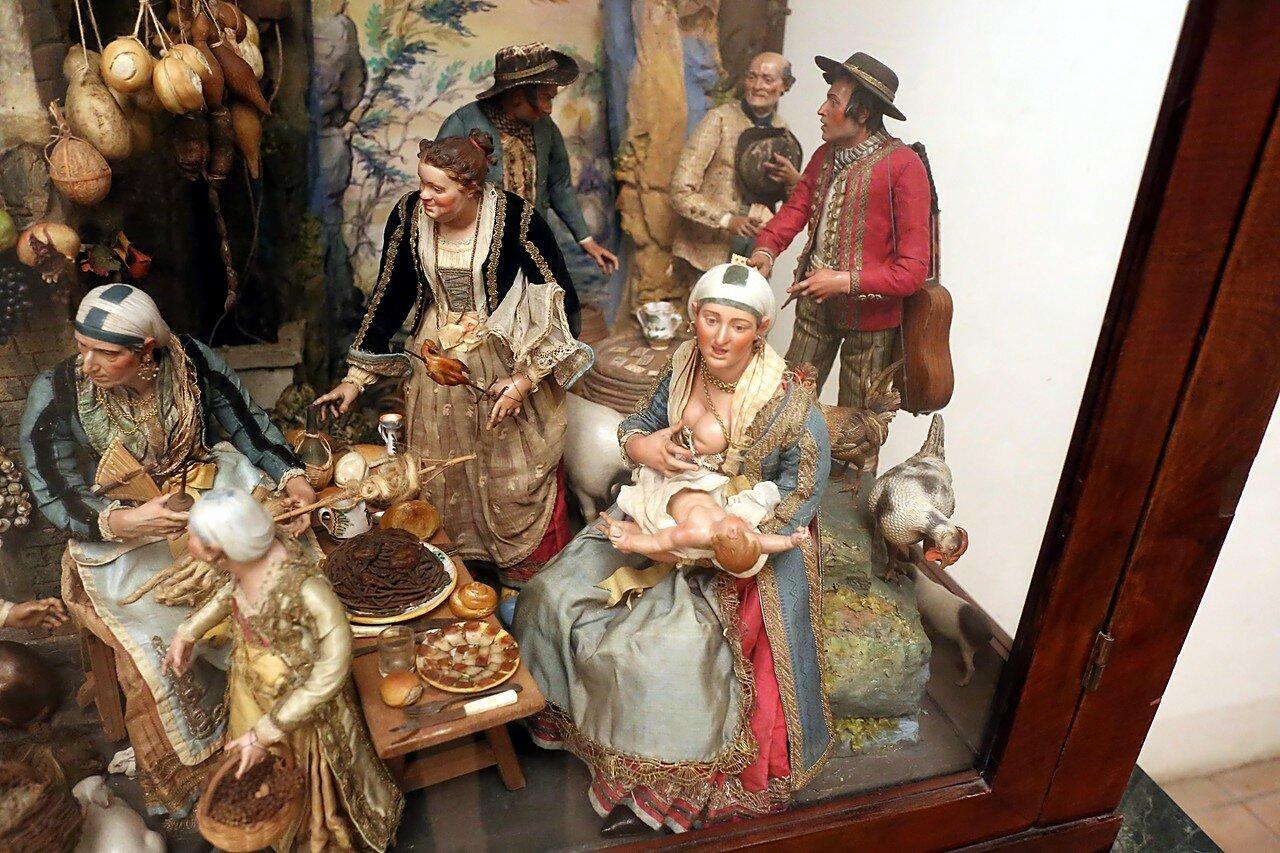 Неаполь. Музей Сан-Мартино. Коллекция вертепов