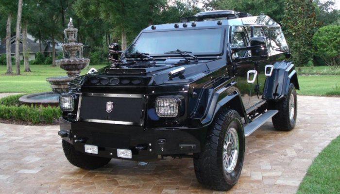 По мнению многих людей, этот бронированный внедорожник является настоящим «убийцей Hummer»