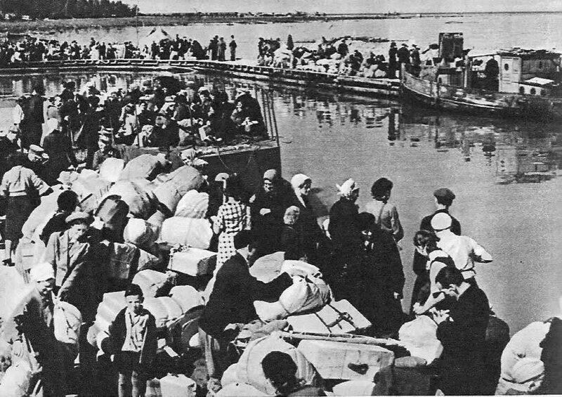 В порту Осиновец