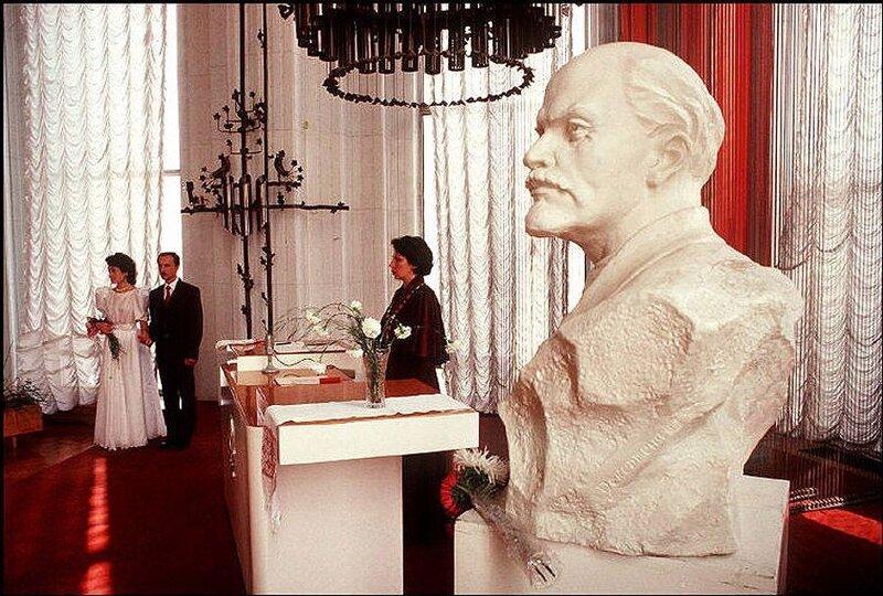 Киев. Свадьба в ЗАГСе. 1988 год.