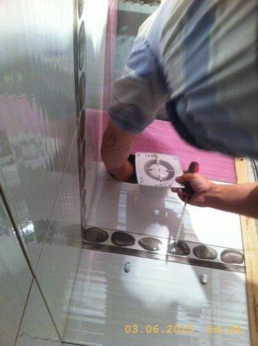 Ставим вентилятор в туалете