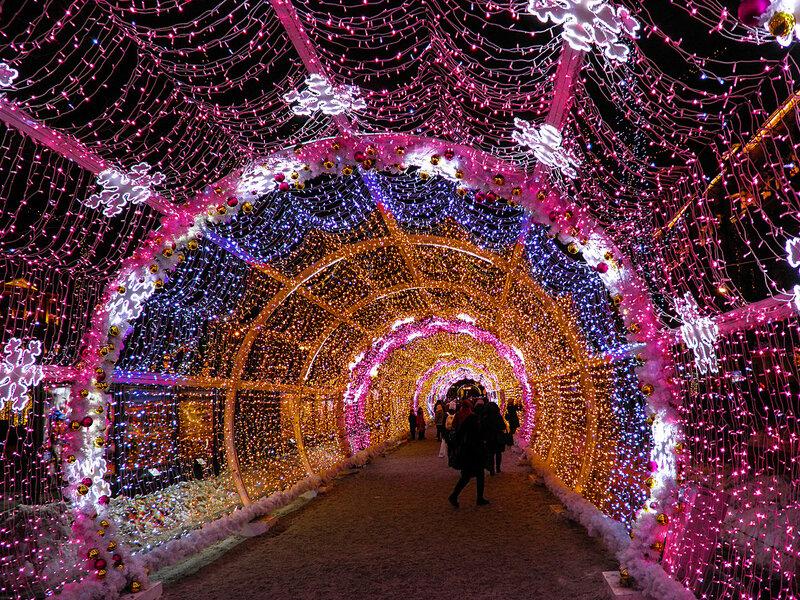 Москва новогодняя