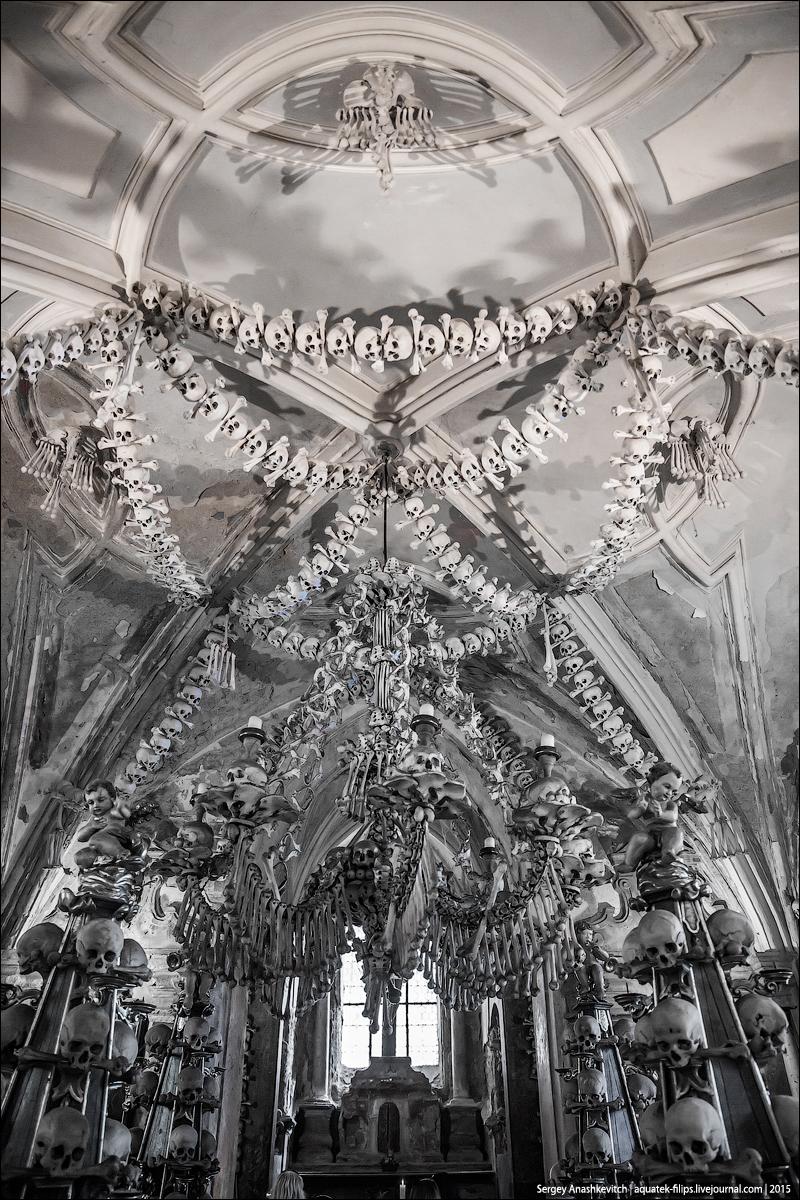 Костехранилище в Седлеце / Sedlec Ossuary