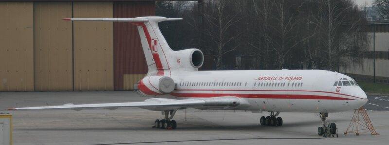 Ту-154 Президента Польши