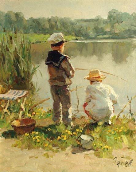 Владимир Гусев, Рыбачки