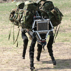 Армия США представила публике свою последнюю разработку - BigDog