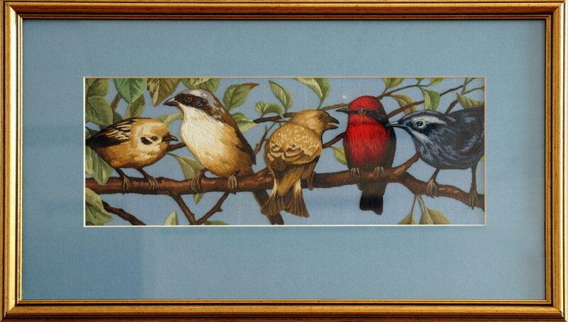 Поющие птички