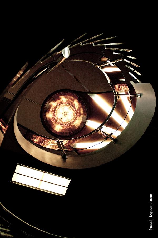 Лестница на теплоходе «Лев Толстой»