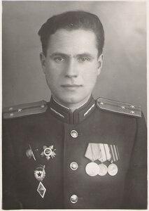 Старший лейтенант Поздышев Н.М.