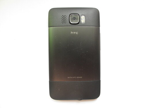 HTC HD2, вид сзади