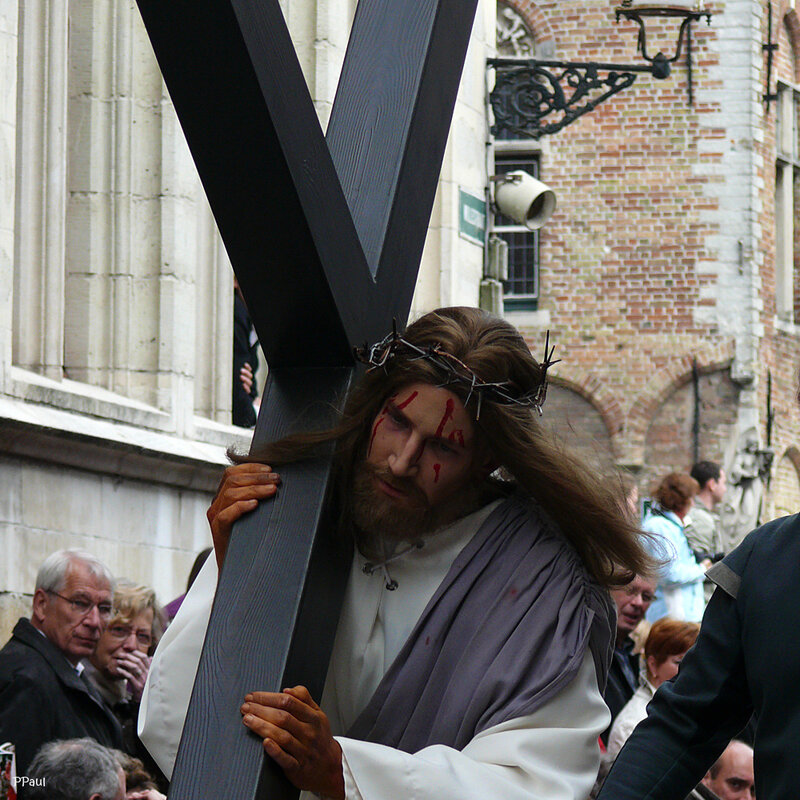 """""""Шествие святой Крови""""   мое самое любимое из этого цикла - Хрстос несет свой крест...."""